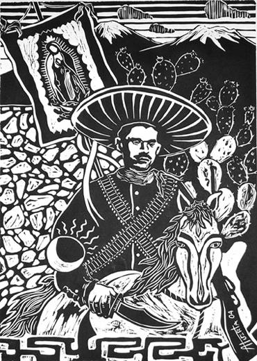Valentín De La Sierra By Alfonso Huerta