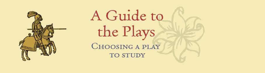 choosing a play to study